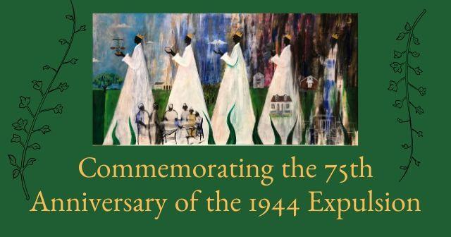 1944 Expulsion of Iberia Parish's Black Leaders painting