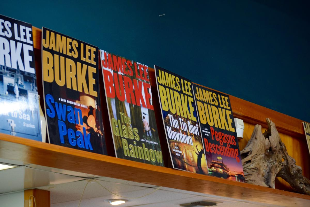 James Lee Burke Dave Robicheaux Books Posters at Books Along the Teche