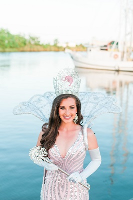 Delcambre Shrimp Festival Queen Courtney LeBlanc