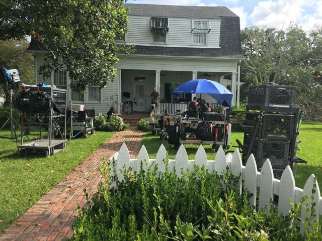 Belanger House Outdoor Filming