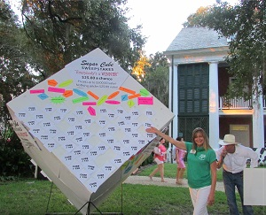 Sugar Cube at Farm Fest at Shadows on the Teche plantation home in New Iberia Louisiana