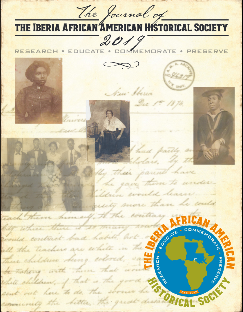 Iberia African American Historical Society Journal 2019