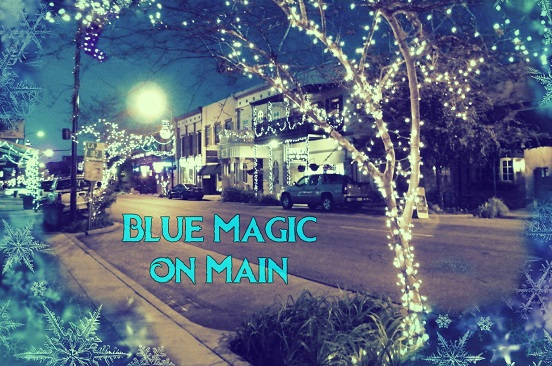 Experience Blue Magic on Main this holiday season in Iberia