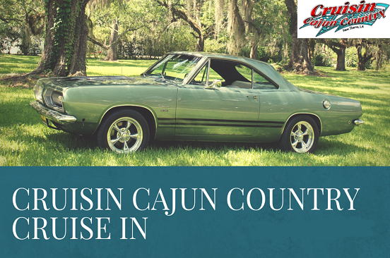 Cruising Cajun Country Cruise In Antique car cruise and show