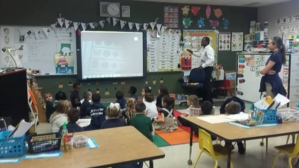 French immersion class at North Lewis Elementary New Iberia