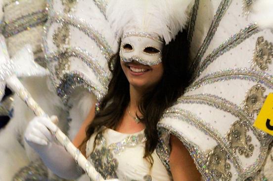 Grand Marais Mardi Gras Parade in Iberia Parish, Louisiana