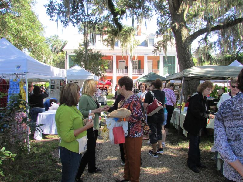 Shadows on the Teche's Arts and Crafts Fair on Main Street New Iberia