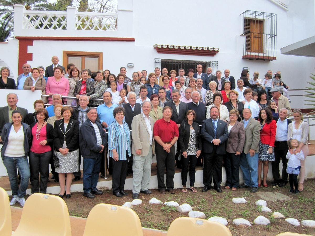 Participants in El Porton picnic, which is a beautiful park in Alhaurin de la Torre, hosted by the Garrido family.