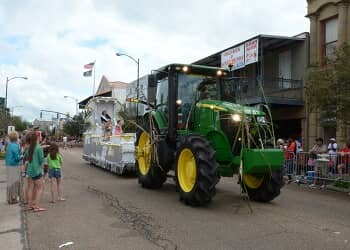 Louisiana Sugar Cane Festival in New Iberia