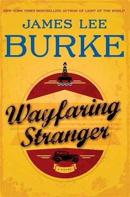 James Lee Burke Wayfaring Stranger Book Cover