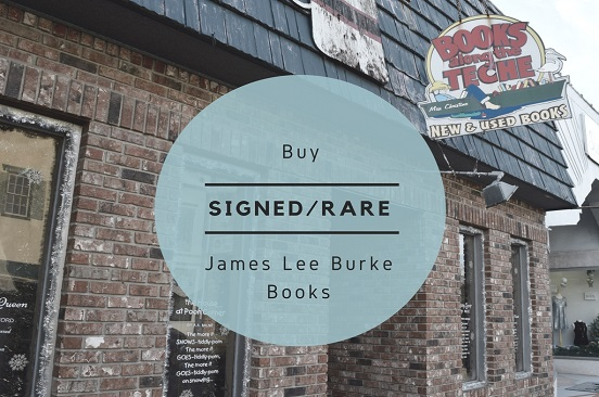 James Lee Burke Rare/Signed Books
