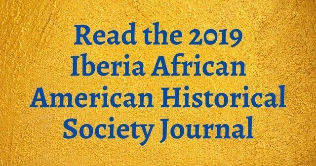 Iberia African American History