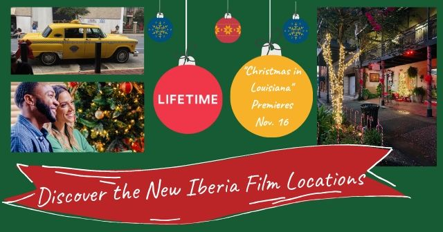 Lifetime's Christmas in Louisiana Movie Locations