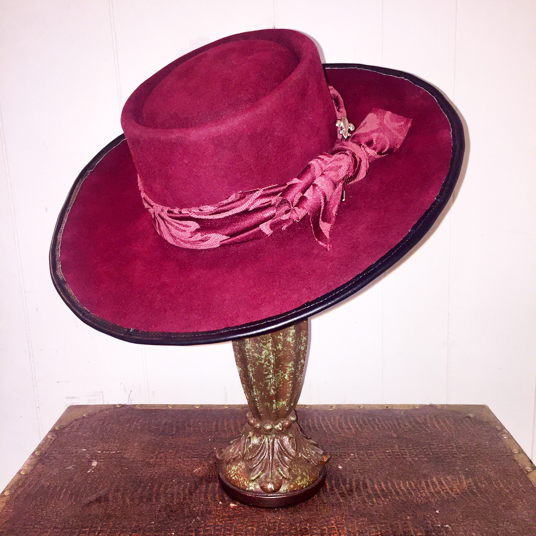 Colby Hebert Chapeaux custom hat