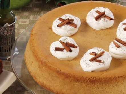 TABASCO's Double-Spiced Pumpkin Cheesecake