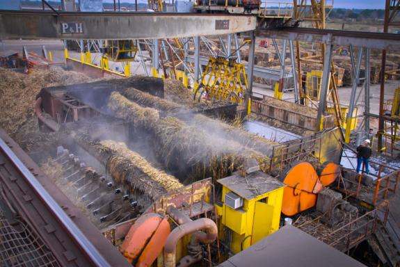 Inside of Raw Sugar Factory in Iberia Parish - - Courtesy of Iberia Parish CVB