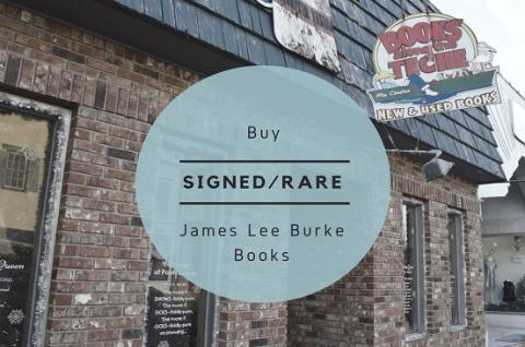 James Lee Burke Rare/Signed Books