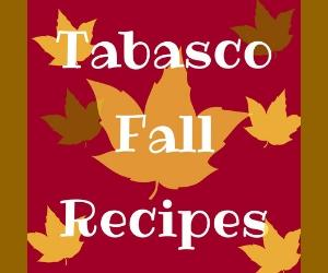 Tabasco Fall Recipes