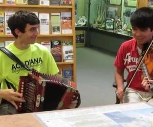 "Embedded thumbnail for ""Mama"" Redell's Boys Play Cajun Music"