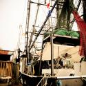 Docked Shrimp Boat in Delcambre - Courtesy of Iberia Parish CVB