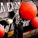 Shrimp boat docked at Port of Delcambre