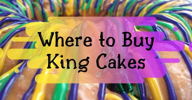 Where to buy king cake in New Iberia, Louisiana